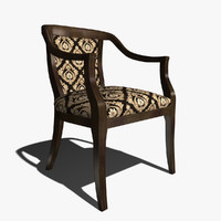 selva 1486 chair 3d max