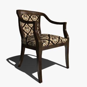 selva 1486 chair 3d max