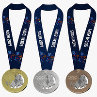 Sochi 2014 Medals Collection