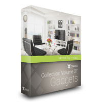CGAxis Models Volume 37 Gadgets MentalRay