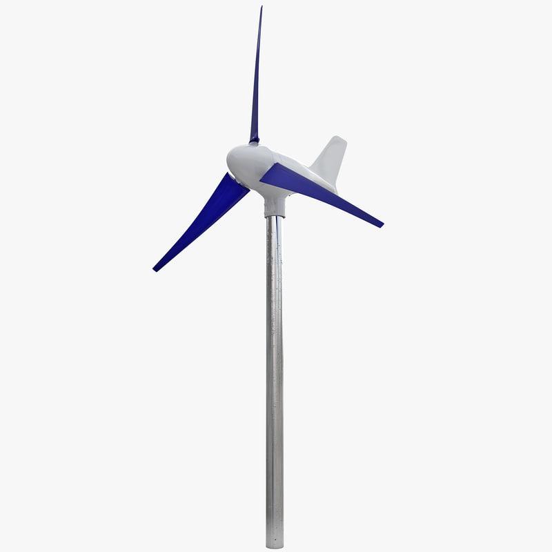 3d model wind turbine 6