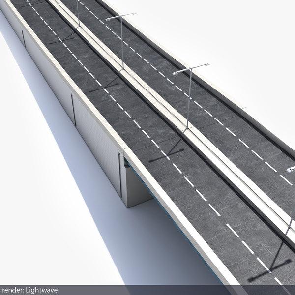 3d bridge model