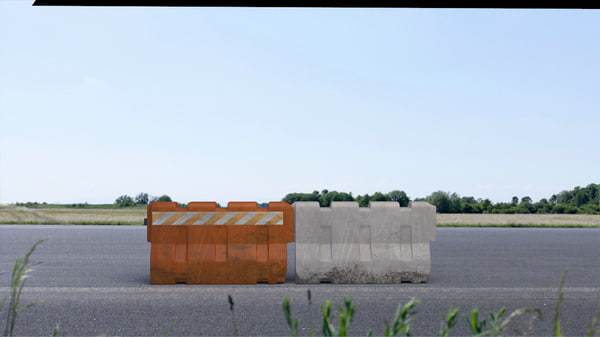 max jersey barrier construction