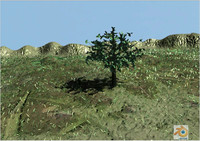 free blend mode tree landscape particles blender2