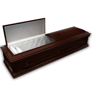 3d coffin wood model