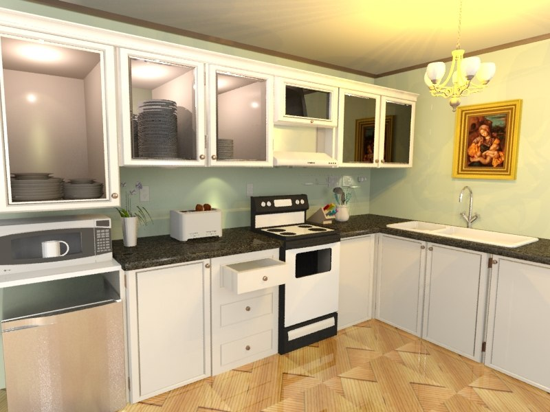 max kitchen elegant presentable