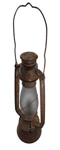 3d model old lamp