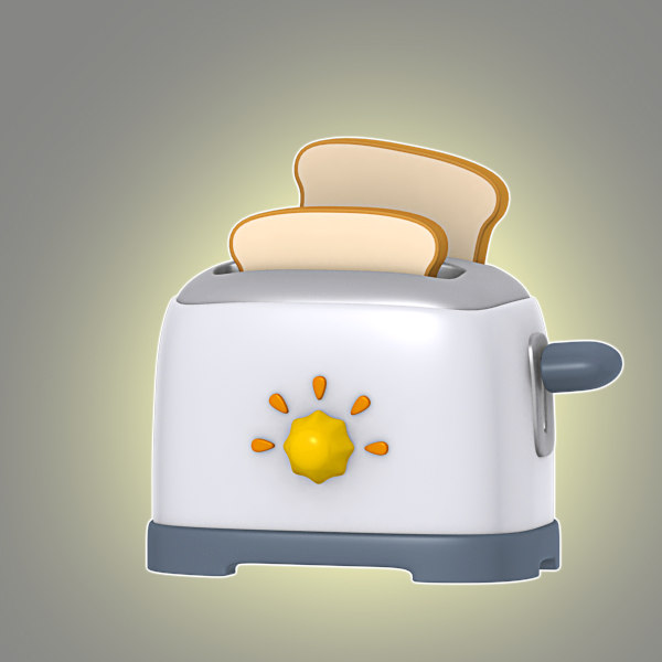 cartoon toaster max