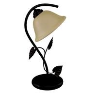 Bedside leaf lamp