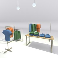 shop interior 3ds