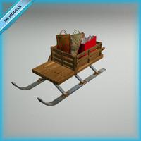 snow sledge christmas max