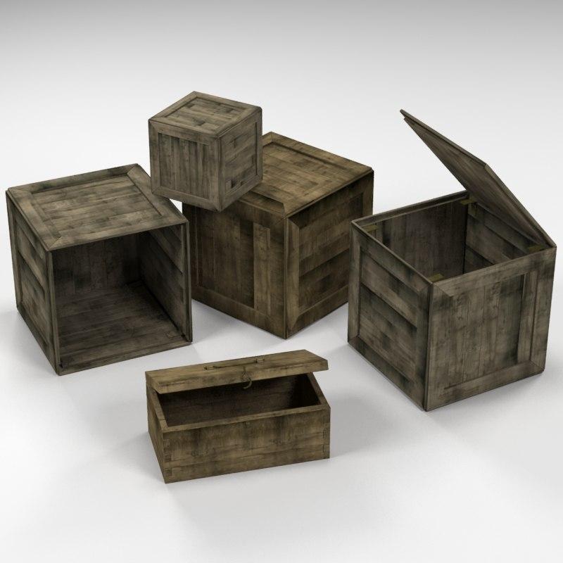 boxes 3d max