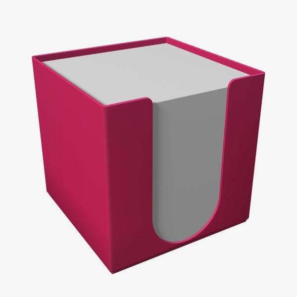 paper block dispenser max