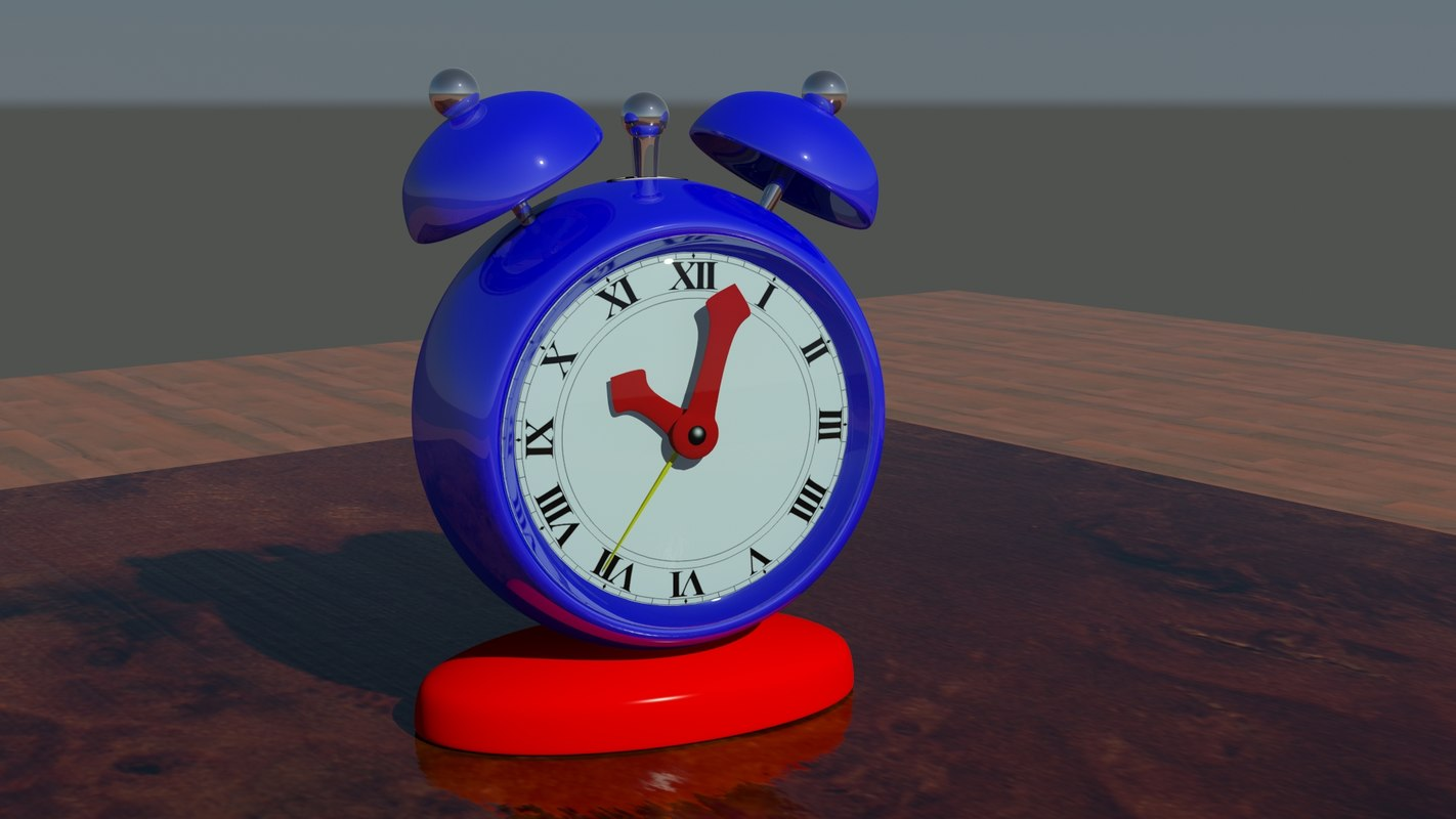 max classic alarm clock drawer