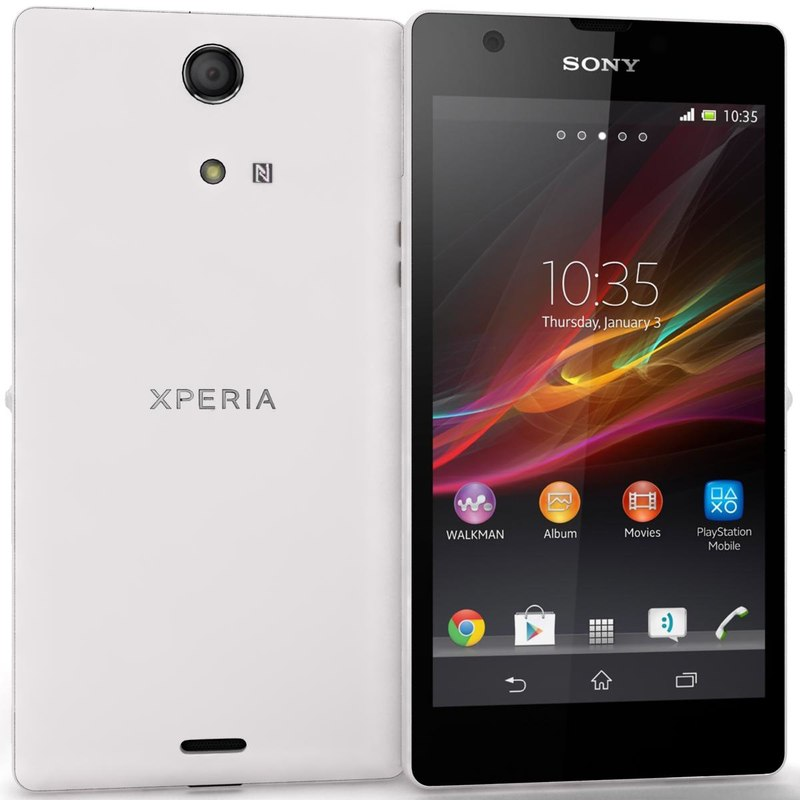 lightwave sony xperia zr white