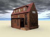 ancient building 3d model