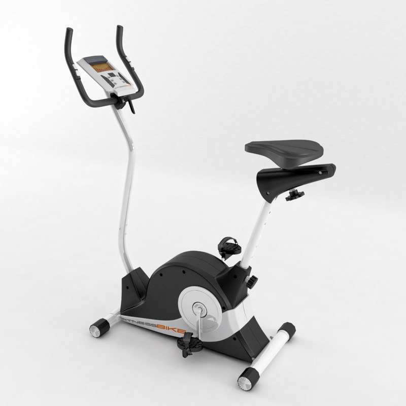 3d model body coach magnetic exercise bike