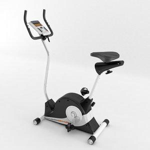 3d model body coach magnetic exercise bike