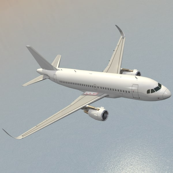 sharkleted airbus a319neo a319 dwg