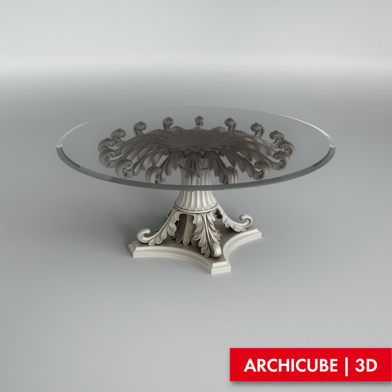 table ezio bellotti 3d model