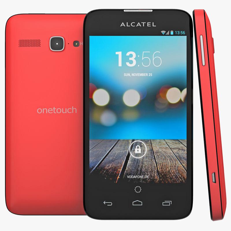 3d alcatel touch snap lte