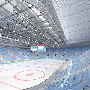 3ds ice hockey arena