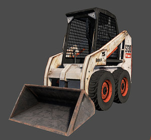 bobcat loader 3d model