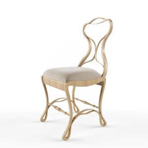 bentwood chair 3d model