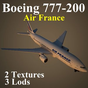 boeing 777-200 afr max