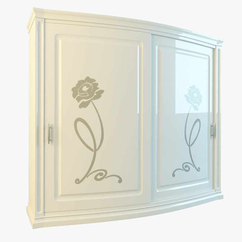 3d model florens wardrobe