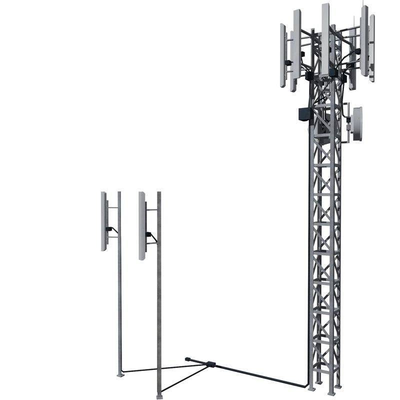 base station m-01 3d model