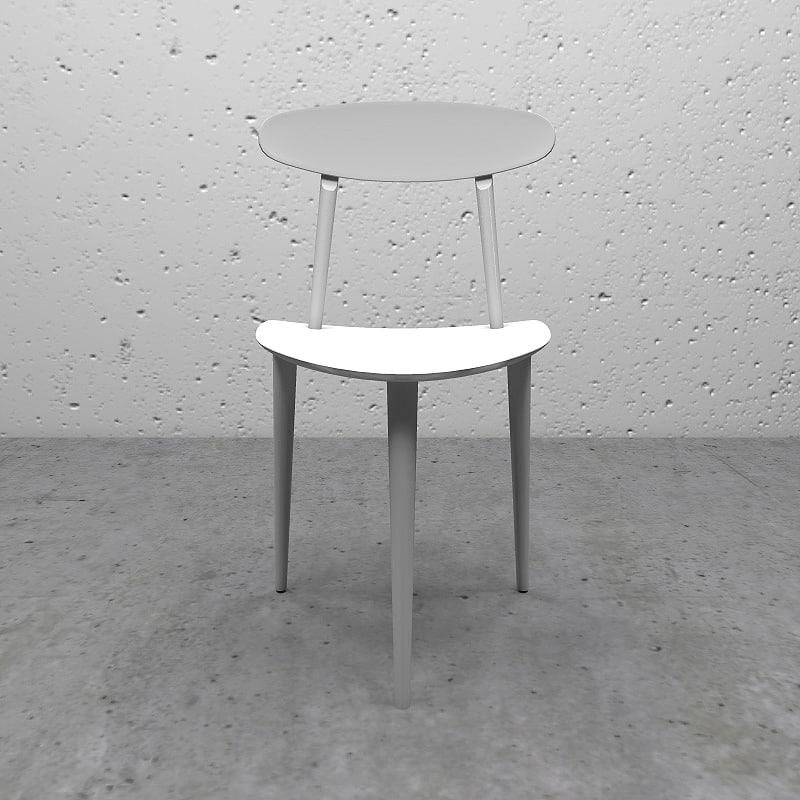 3d model of hay chair j 107