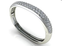 NR Diamond Bangle 534