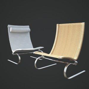 pk20 chair 3d model
