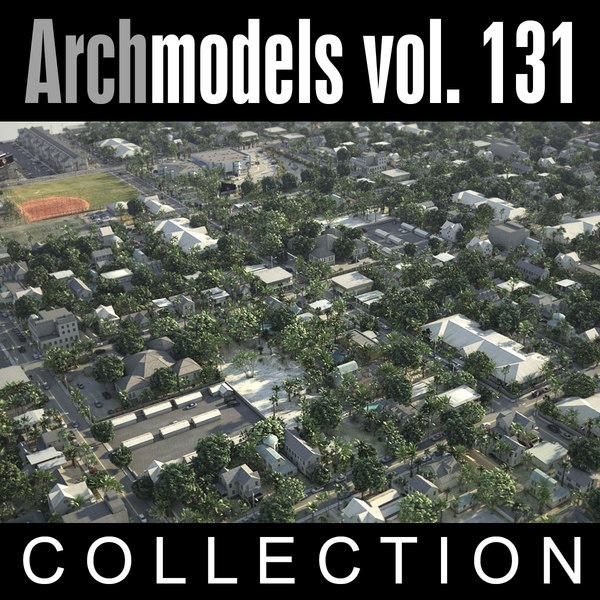3d archmodels vol 131 city