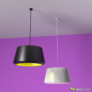 3d model pendant lamp zero