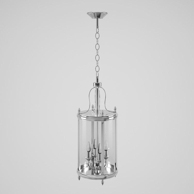 eichholtz lamp lantern 3d model