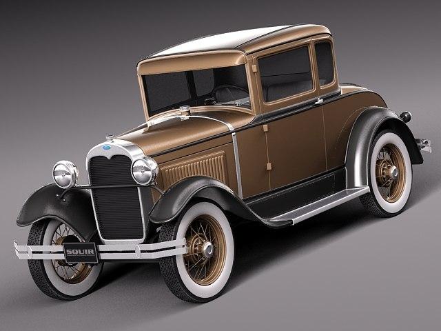 3ds classic antique coupe 1931