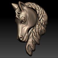 Horse Head Relief