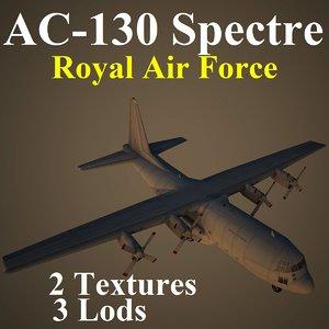 ac-130 spectre raf max