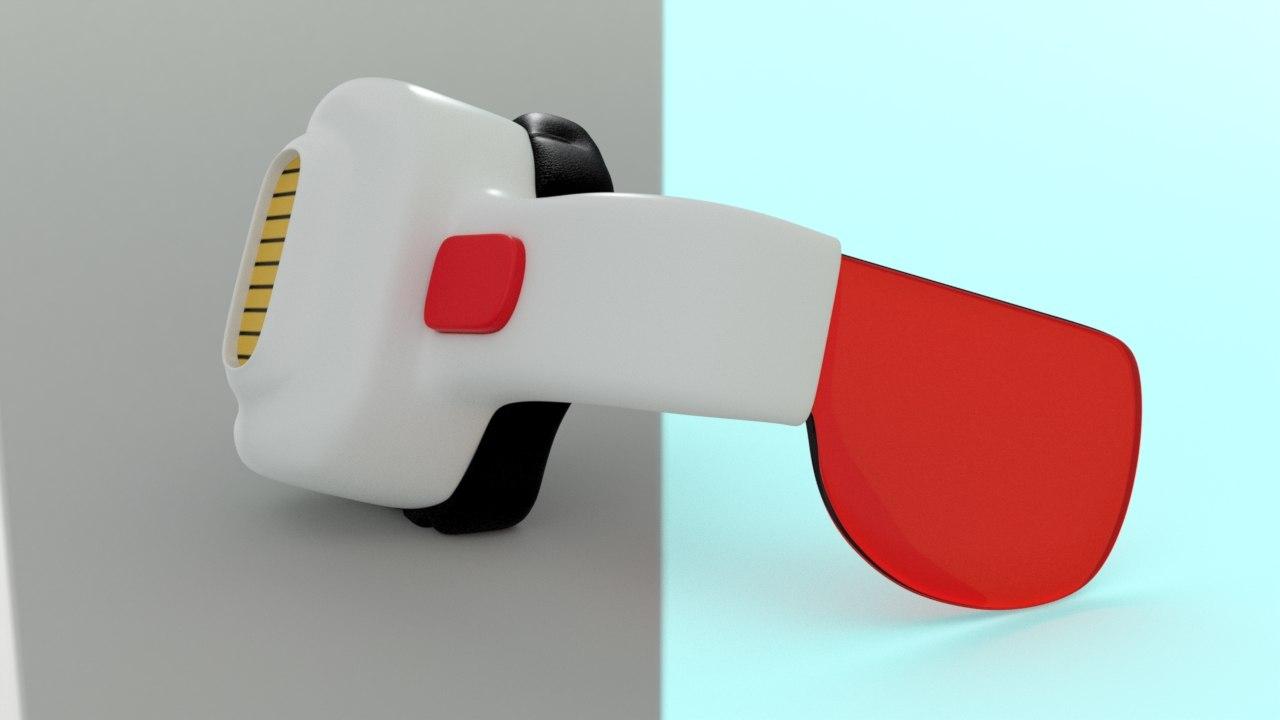 scouter dragonball z 3d model