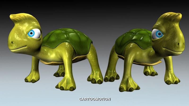 3d foo turtle
