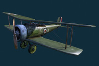 3ds max wwi fighter plane
