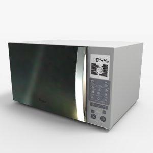 microwaves 3d model