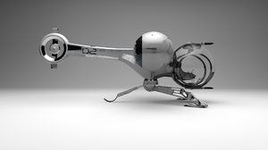 3d model oblivion bubble ship