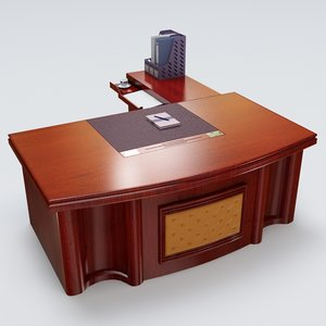 3dsmax executive desk