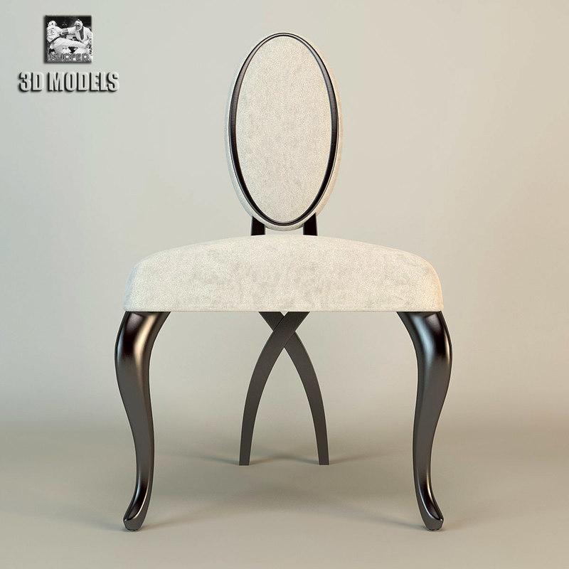 christopher guy chair 30-0094 3d model