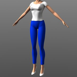 - clothing 3d model