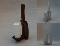 candlestick 3d max