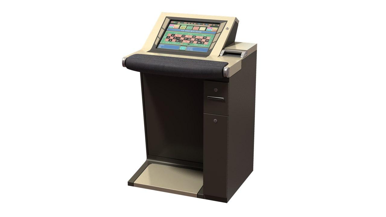 maya electronic roulette casino cabinet
